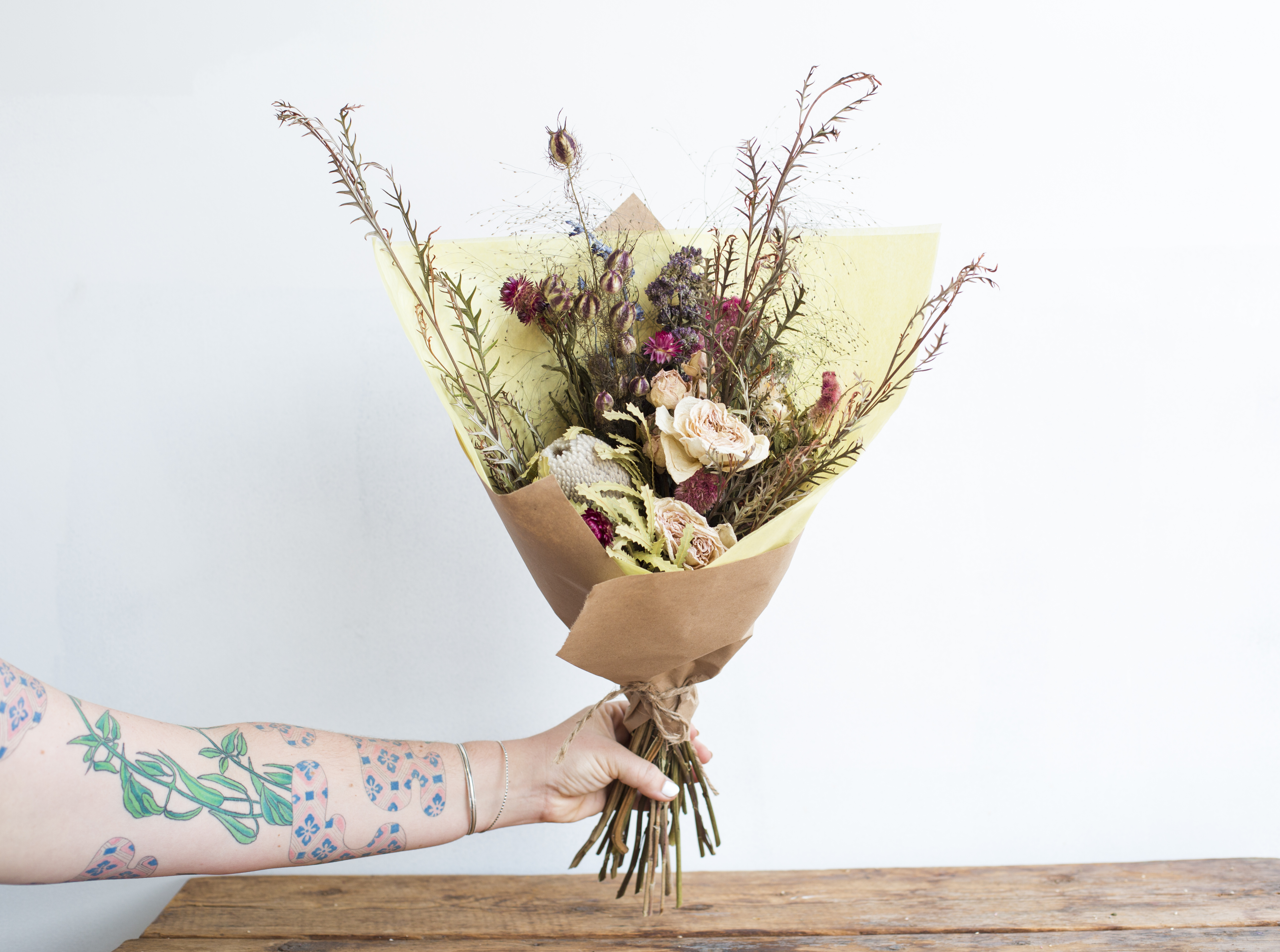The Dried Bouquets Stems Brooklyn